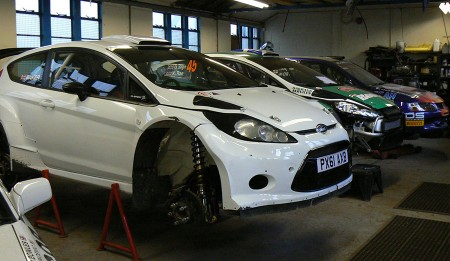 Rally Car Preparation